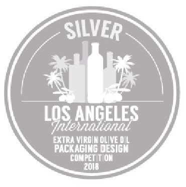 Los Angeles International EVOOC, Silver Medal Packaging 2018